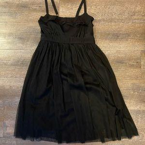 Xhilaration black spaghetti strap dress